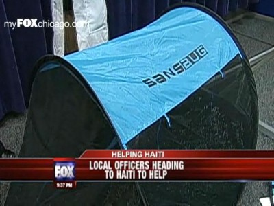Screen Tent for Disaster Relief