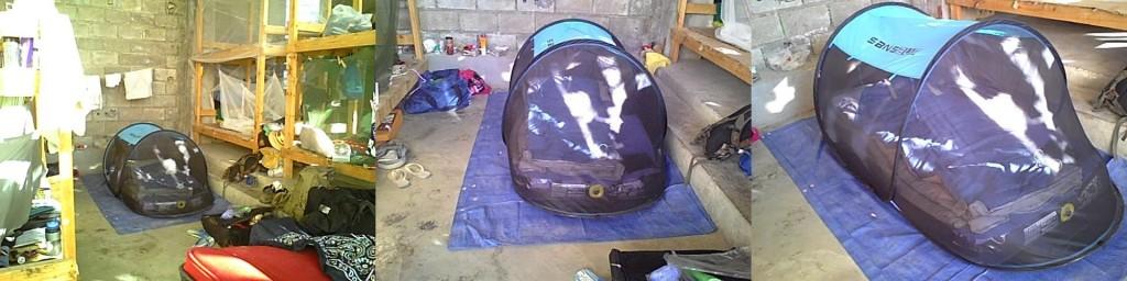 disaster response mosquito net