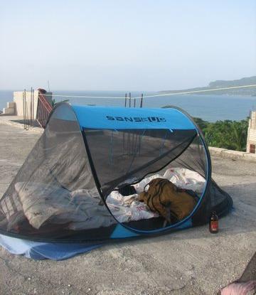 haiti tent