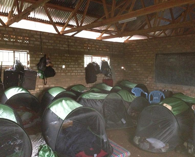 mission trip mosquito nets