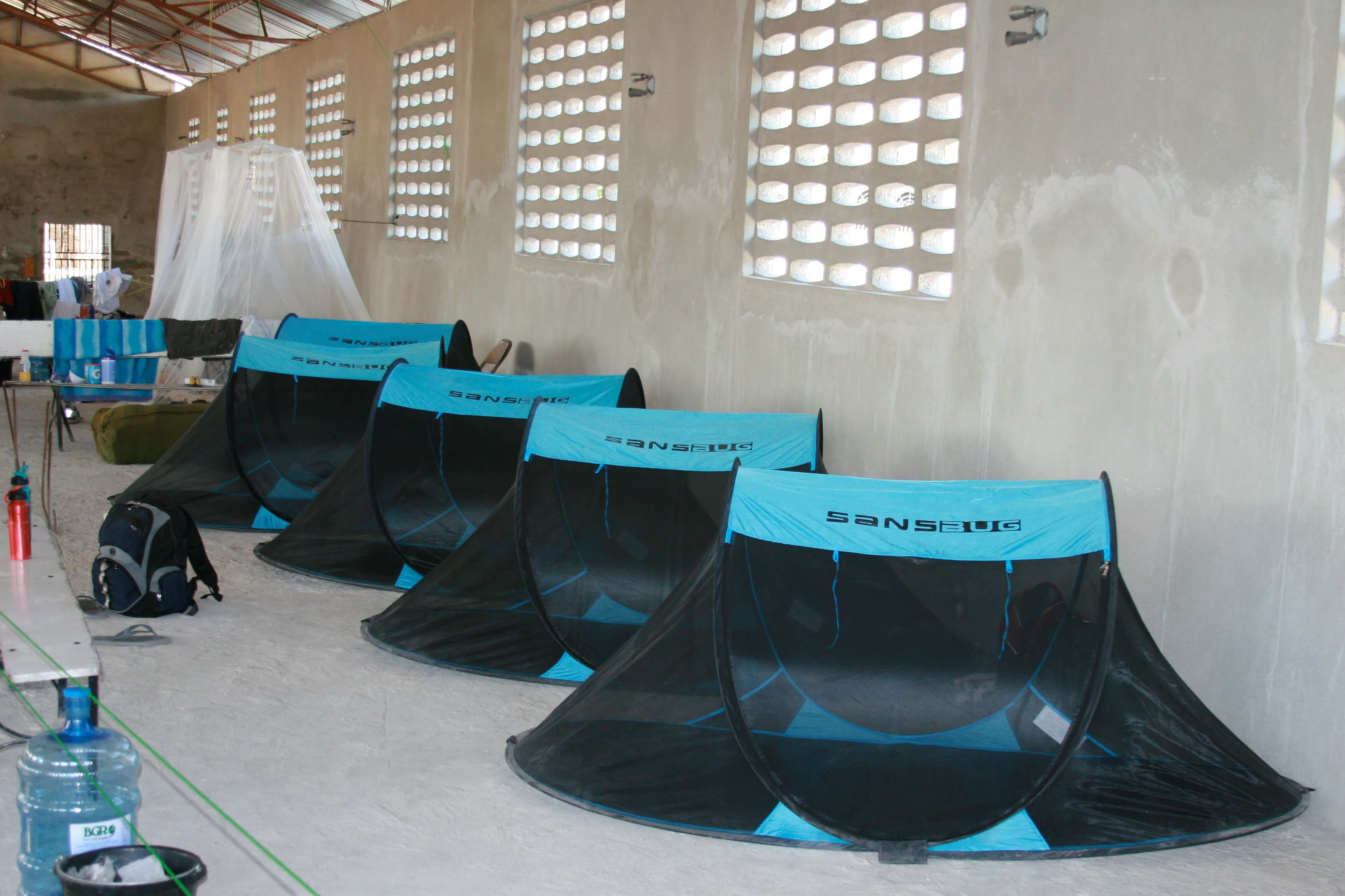 disaster response mosquito nets