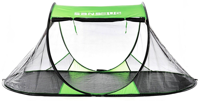 free-standing mosquito net