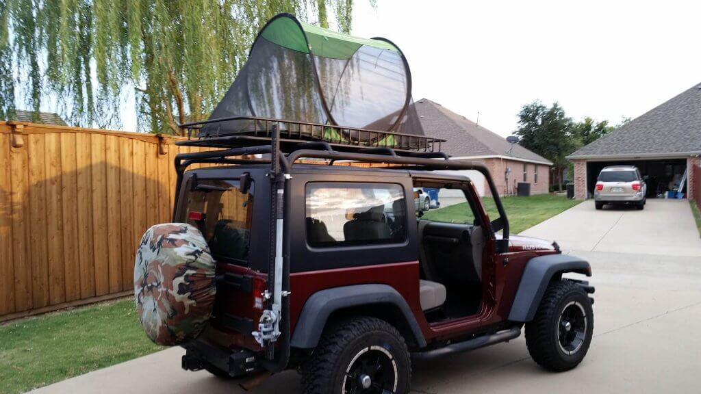 jeep overland camping