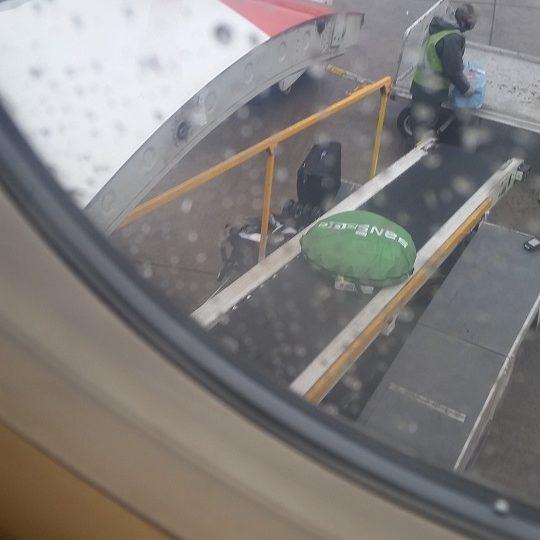 Taking the SansBug on a Plane